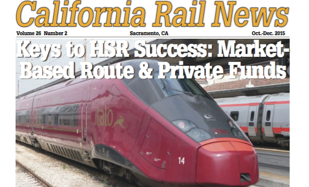 October-December 2015 California Rail News Now Online